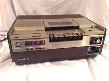Vintage Sony VCR Model SL-8600 Beta Betamax VCR