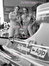 Niki Lauda & Clay Regazzoni Ferrari F1 Portrait 1974 Photograph