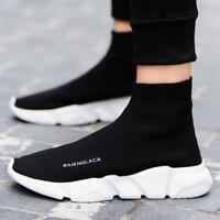 Shoes Men Sneakers Casual Shoes Adult Socks Breathable Shoes Free Shippping New