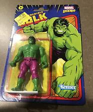 "Marvel Legends Retro Kenner Hasbro Action Figure 3.75"" HULK 2021 NEW"