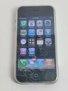 Working Apple 1st Generation I Phone Broken Screen Unlocked