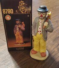 Emmett Kelly Figurine With Box 9790C