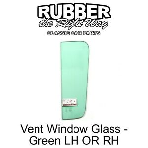 1960 - 1963 Chevy & GMC Truck Suburban Panel Vent Window Glass - Green