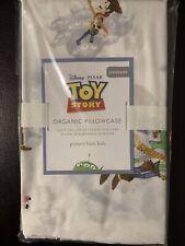 Pottery Barn Kids Nwt Disney Pixar Toy Story Organic Standard Pillowcase