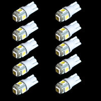 10pack Car LED T10 194 168 W5W 5050 Wedge Side Light Bulb Lamp 5SMD White Sales