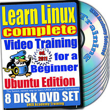 Learn Linux Complete, 8-DVD Video Training Ubuntu Set