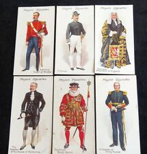 Cigarette Cards John Players & Sons Ceremonial and Court Dress 1911 VGC f