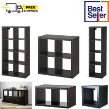 IKEA KALLAX Display Shelving Unit Bookcase Drawer Rack Divider Cube Black/Brown