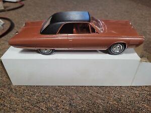 1963 Chrysler Turbine Car, 1/25 factory/dealer promo model, bronze, in box