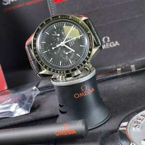 Omega Speedmaster Professional Moonwatch 31133423001001 Leather Strap 2020