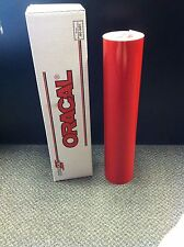 """Oracal 651 1 Roll 24""""x50yd(150ft) Red Gloss Sign Vinyl"""