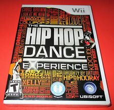 The Hip Hop Dance Experience Nintendo Wii *Factory Sealed! *Free Shipping!