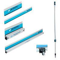 OX SpeedSkim Stainless Flex Blade Finishing Rule 300mm 450mm 600mm 1200mm, Pole