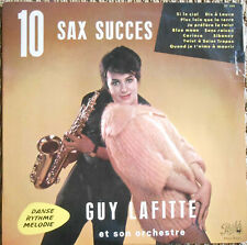 GUY LAFITTE 10 SAX SUCCES 25cm 1960  vg+