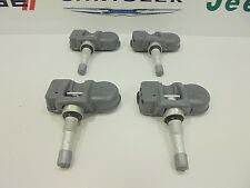 08-17 Chrysler Dodge Jeep New Tire Pressure Sensor TPMS Set of 4 Mopar Oem