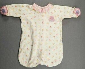 Baby Girl Clothes Gerber Preemie Pretty Girl Floral Sleep Bag