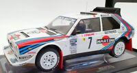 IXO Models 1/18 Scale Diecast 18RMC046A - Lancia Delta S4 #7 1986 Monte Carlo