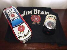 Jim Beam Dick Johnson Racing Falcon #17 Storage Tin + Apron + Stubby Holder