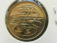 """AUSTRALIA""""2013""""Uncirculated""""20 Cents""""Coin""""The PLATYPUS""""LOW MINTAGE"""""""