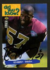 Ken Harvey #49 signed autograph auto 1995 Upper Deck Football Trading Card