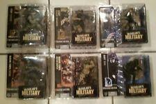 McFarlane Military Series 1 Set of 6 Seal Sniper Recon CCT Infantry Ranger NEW