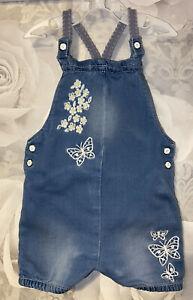 Girls Age 9-12 months - Shorts Dungarees/ Play Suit