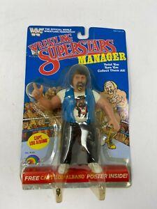 VTG 1985 WWF LJN Wrestling Superstars Manager Figure Capt. Lou Albano SEALED!!