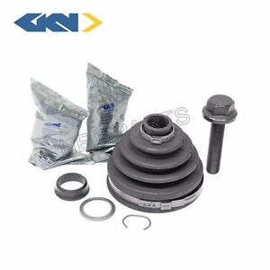 For Audi V8 100 S4 90 A6 S6 VW Passat Front Outer Axle Boot Kit Gkn Loebro OEM