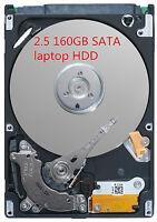 Festplatte 160GB SATA 2,5 Zoll Notebook Laptop Harddisk HDD HP FSC DELL IBM ASUS