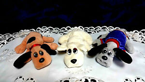 TONKA POUND PUPPIES DOG PLUSH Choose ONLY One Puppy Spotted Brown & Gray