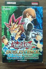 Yu-Gi-Oh! Yugi & Kaiba Special Edition Duelist Pack (6 booster) Box