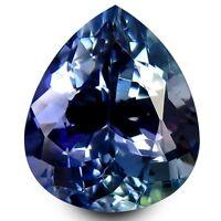 HKD CERTIFIED TANZANITE : 2,32 Ct Blau Violett Tansanit Augenrein