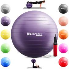 Hop-Sport Gymnastikball inkl. Ballpumpe 45 55 65 75 85cm Fitnessball Aerobik