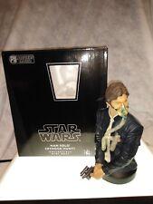 Star Wars Gentle Giant Han Solo Minock Hunt Bust With Box COA