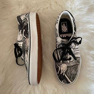 NWOB Vans x MoMA Era Edvard Munch Scream Shoes Sz Mens 6/ Women's 7.5
