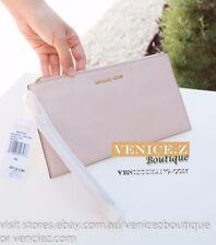 BNWT RRP$159 MICHAEL KORS BEDFORD Soft Leather Wallet Clutch Purse Wristlet Pink