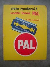 PREZZARIO Lamette Pal CATLOGO Prezzi MODELLI Libro 1950 ESPOSITORE Raro