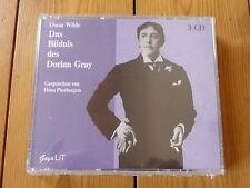 Oscar Wilde  Das Bildnis des Dorian Gray Hans Piesbergen (Sonderausgabe) 3CD RAR