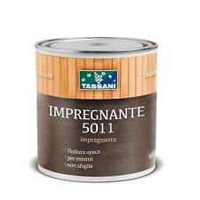 IMPREGNANTE PROTETTIVO PER LEGNO TRASPARENTE OPACO ESTERNI 0,75 LT. 5011 TASSANI
