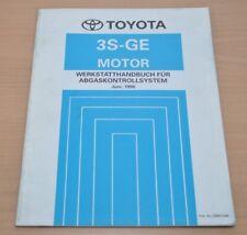 Toyota 3S-GE  Motor Abgaskontrollsystem Juni 1996 Werkstatthandbuch