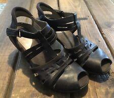 Merrell Evera Band Bracken Womens Brown Heels Comfort US 8 EU 39 EUC