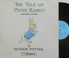 BEATRIX POTTER ~ Tale Of Peter rabit & Other Stories ~ VINYL LP