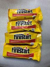 4 DURAFLAME Firestart Firelighters Flame bonfire camp-fire **FREE SHIPPING** NEW