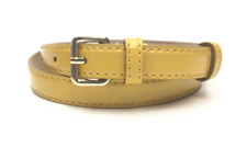 Marc By Marc Jacobs Women's Yellow Leather Belt Sz M / L 3501