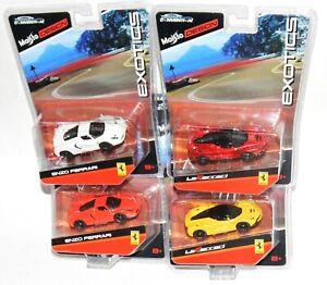 """Maisto Design Exotics Ferrari Lot Diecast Convention """"MOC"""""""