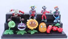 Plantas Vs Zombies | Pack 10 figuras coleccion de 3-8 cm | figure toy doll