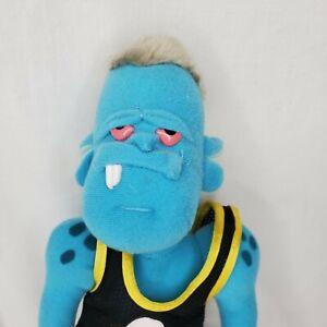 "Space Jam Monstars Blanko 1996 Plush Doll Basketball McDonalds With Tag 11"""