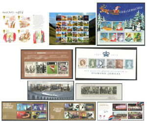 2012 Royal Mail Miniature Sheets MNH. Each sold separately.