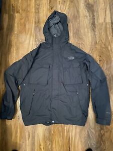 The North Face  Dark Grey Hyvent Waterproof Jacket Size  M