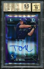 Tyler O'Neill 2016 Bowman Chrome Purple Refractor Auto RC /250 BGS 9.5/10 GEM